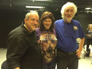 With Jeremy Cohen and Richard Greene